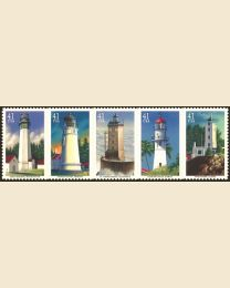 #4146S- 41¢ Pacific Lighthouses