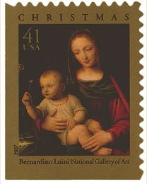 #4206 - 41¢ Madonna and Child
