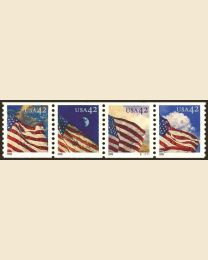 #4228S- 42¢ Flags
