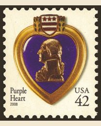 #4263 - 42¢ Purple Heart