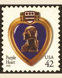 #4264 - 42¢ Purple Heart