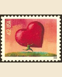 #4270 - 42¢ Love (All Heart)