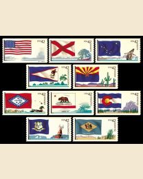 #4273S- 42¢ Flags (1) - USA - Delaware