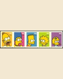 #4399S- 44¢ The Simpsons