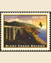 #4439 - $18.30 Bixby Creek Bridge