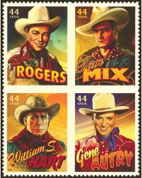 #4446S- 44¢ Cowboys of the Silver Screen