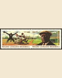 #4465S- 44¢ Negro Leagues Baseball