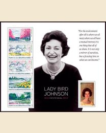 #4716- (45¢) Lady Bird Johnson