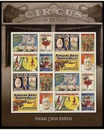 #4898- (49¢) Circus Posters