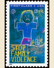 #B3 - (45¢) Domestic Violence Semi-postal