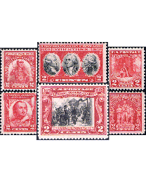 2¢ Reds 16 Different