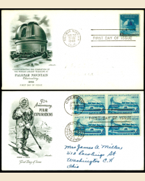 25 First Day Covers