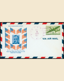 Historic V-J Day Cover