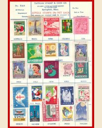 1956 Worldwide Christmas Seals