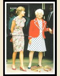 Barbara Bush & Princess Diana