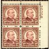 #693 - 12¢ Cleveland: Plate Block