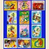 500 Disney Stamps