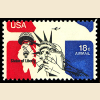 US #C87 18¢ Statue of Liberty