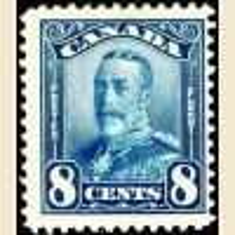 #154 8¢ King George V