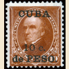 Cuba #226 10¢ on 10¢ Webster Overprint