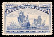 4¢ Fleet of Columbus