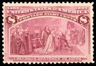 8¢ Columbus Restored to Favor
