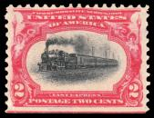1901 2¢ Locomotive Express