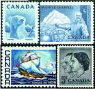112 Mint Canada Commemorative Stamps