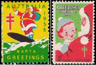 Nostalgic Christmas Seals