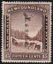 Newfoundland 1933 Land & Sea Overprint