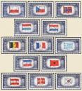 World War II Overrun Nations
