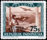 Liberation of Jakarta Airmails