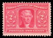 2¢ Louisiana Purchase #324 Unused