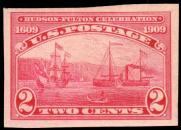 1909 Hudson-Fulton Imperforate