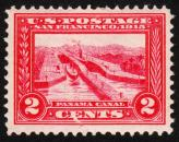 1913 2¢ Opening of the Panama Canal
