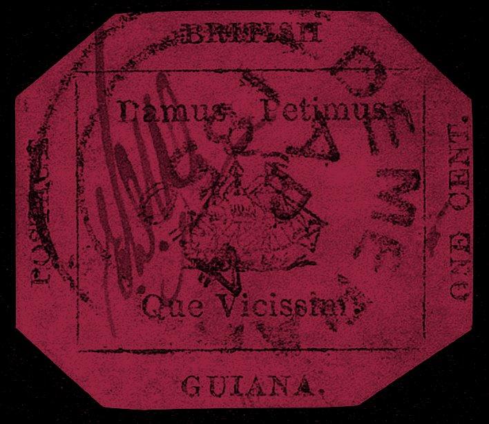 British Guiana 1 cent magenta