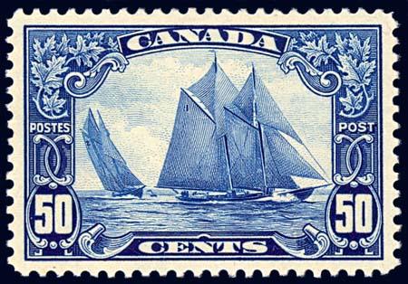 Canada 50¢ Bluenose
