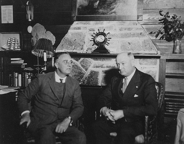 FDR & Farley 1931