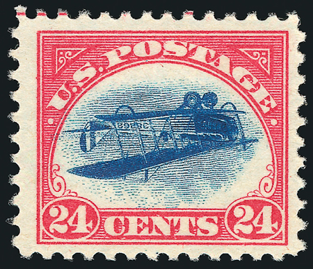 Rare Inverted Jenny Error