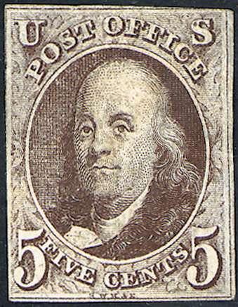 First U.S. Stamp