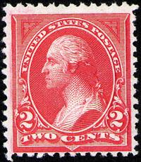2 Cent George Washington Stamp