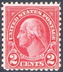 2 Cent Washington Type II