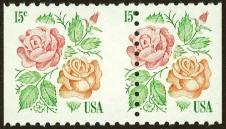 Roses Mis-Perf Pair