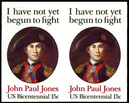 John Paul Jones Imperf Error