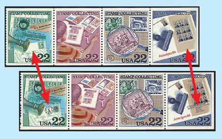 Stamp Collecting Missing Color Error